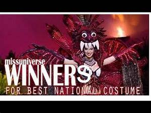 Best National Costume Winners - Miss Universe (1962- 2014 ...
