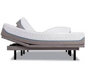 tempur ergo plus adjustable base with tempur cloud supreme mattress sleepy s
