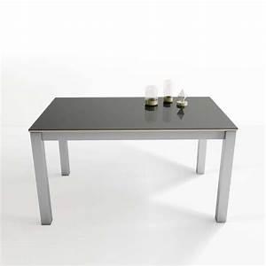 Table En Verre Rectangulaire : table rectangulaire en verre extensible tokio 4 ~ Teatrodelosmanantiales.com Idées de Décoration