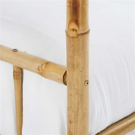 Letto A Baldacchino Bianco by Letto A Baldacchino 160 X 200 In Bamb 249 E Tessuto Bianco