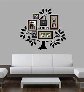 Family Photo Tree Kit Decal Vinyl Wall Lettering Wall