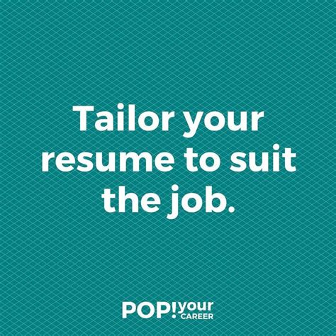 Tailor Your Resume by 17 Best Ideas About Career Objectives For Resume On