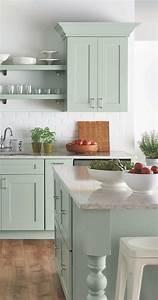 20 gorgeous green kitchen cabinet ideas 880
