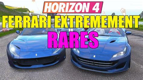 Press the like button and be sure to subscribe!! Forza Horizon 4 : VOITURES RARES ! Ferrari Portofino vs Pista vs SuperFast - YouTube
