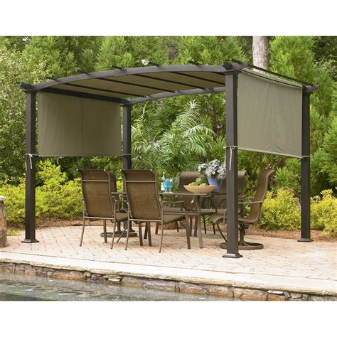 garden oasis gf 11s168b curved pergola sears outlet