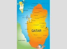 Qatar country stock vector Illustration of qatar, doha