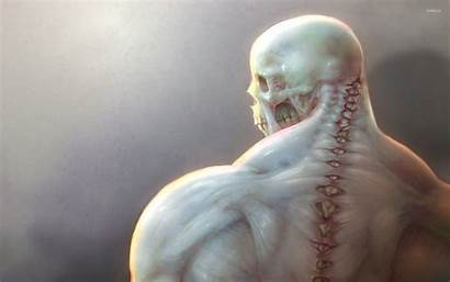 Skeleton Creepy Wallpapers Scary Fantasy Skeletons Background