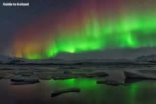 Northern Lights Iceland Glaciers