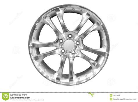 Car Aluminum Wheel Rim Royalty Free Stock Images
