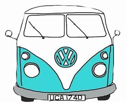 Sticker Bus Vsco Stickers California Vw Fun