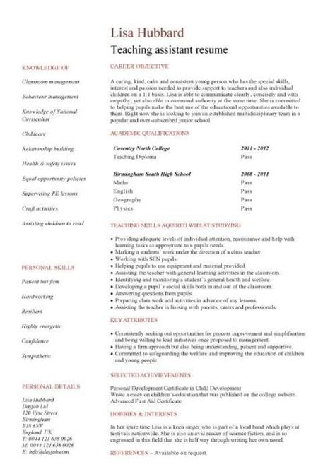 Educational Aide Resume by 25 Best Ideas About Assistant On