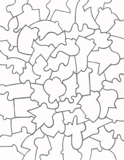 Puzzle Template Paper Jigsaw Puzzle Templates Team Colors