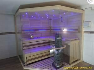 Sauna Mit Glasfront : designsauna wille sauna ~ Whattoseeinmadrid.com Haus und Dekorationen