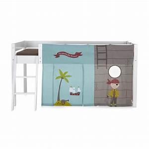 Lit Maison Enfant : pirate tente pour lit d 39 enfant mi haut achat vente ~ Farleysfitness.com Idées de Décoration