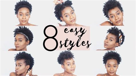 4c hairstyles 8 easy hairstyles for 4c