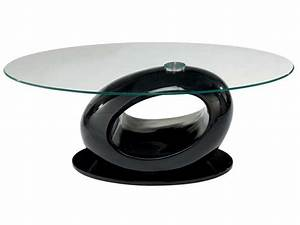 Table Basse De Salon Conforama : table basse egg coloris noir vente de table basse conforama ~ Teatrodelosmanantiales.com Idées de Décoration