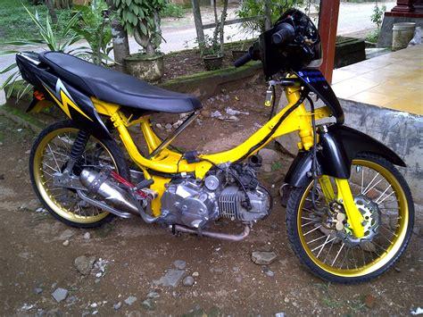 Foto Modifikasi Motor Drag Supra X Modifikasi Yamah NMAX