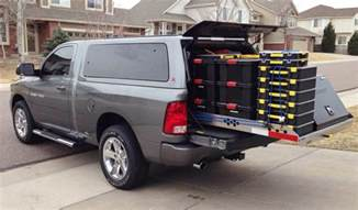 truck bed slide out cargo tray for pickup trucks work