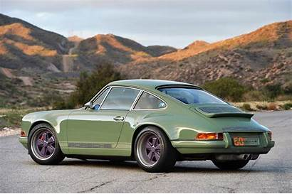 911 Singer Purple Porsche Olive Reimagined Porche