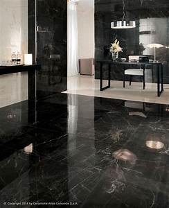 carrelage de sol en gres cerame poli aspect marbre With carrelage faux parquet