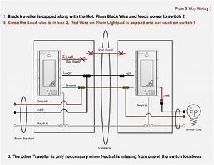 Leviton 3 Way Switch Wiring Diagram