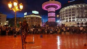 Macedonia: 'Colourful revolution' issues ultimatum ...