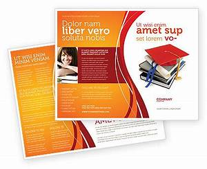 higher education brochure template design and layout With education brochure templates free
