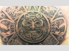 tattoo espalda calendario maya inkompletiko YouTube