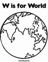 Coloring Globe Earth Preschool Colouring Kindergarten Clip Bible Popular Library Template Printable sketch template