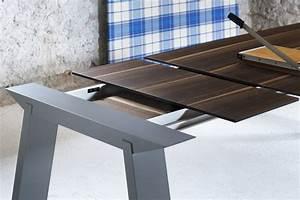 Tisch Aus Holz : art rechteckiger tisch miniforms aus holz fest oder verl ngerbar in verschiedenen gr en ~ Watch28wear.com Haus und Dekorationen