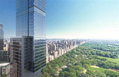 Renderings Surface For Central Park Tower 217 West 57th