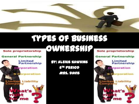 Types Of Business Ownership Alexis