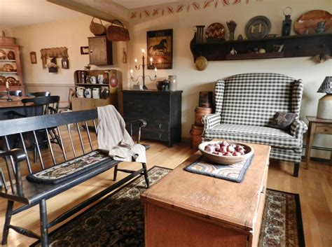 Primitive Decorating Ideas For Living Room by Living Room Dining Room Primitive Decorating