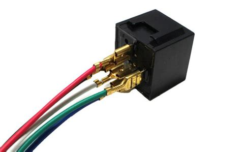 Pin Spdt Relay Socket Wire For Car Fog Light