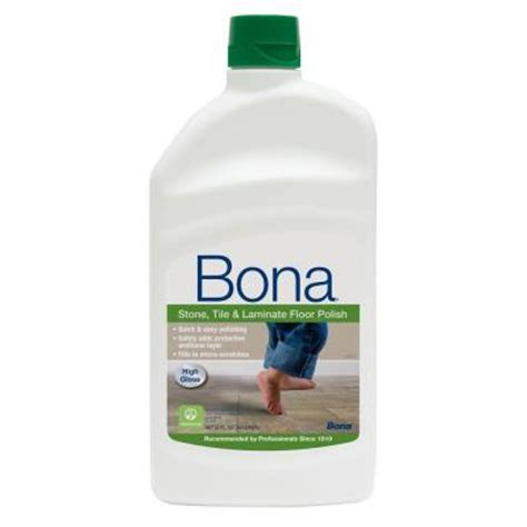 bona for laminate wood floors bona 32 oz high gloss tile and laminate floor