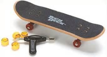 How To Ride A Tech Deck Skateboard