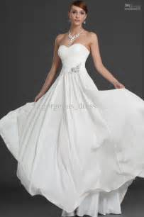 simple cheap wedding dresses simple cheap wedding dresses chiffon strapless bridal dress back zipper ruffle sweep