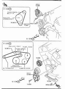 2003-2008 Mazda Mazda 6 V6 3 0l Serpentine Belt Diagram
