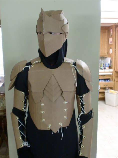 cardboard armor corrugated cardboard costumes that you can make