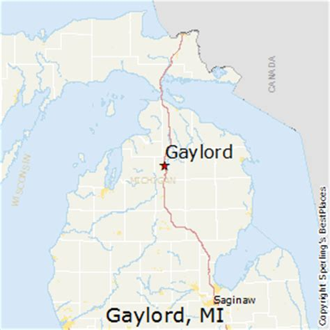 Sled Shed Gaylord Mi Hours by Gaylord Michigan Map Michigan Map