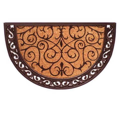 Scroll Doormat by Home More Ornate Scroll 24 In X 36 In Door Mat