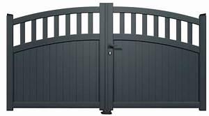 Portail 4 Metres Brico Depot : avis portail aluminium 1 60 m brico d p t ~ Dailycaller-alerts.com Idées de Décoration