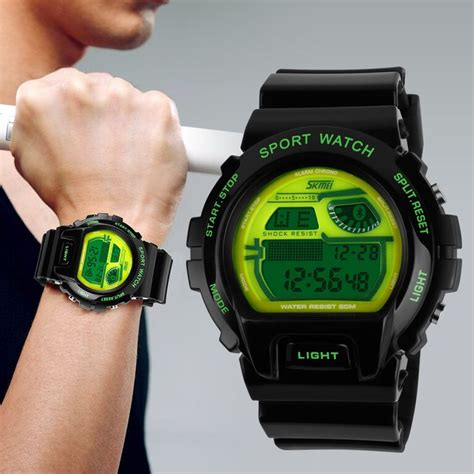 jam tangan skmei s shock sport skmei s shock sport water resistant 50m dg1010