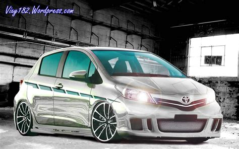 Toyota Etios Valco 4k Wallpapers by Design Modifikasi Mobil New Toyota Yaris Vixy182 S