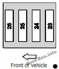 1996 Chrysler Lhs Fuse Box Location : fuse box diagram mercedes benz slk class r170 1996 2004 ~ A.2002-acura-tl-radio.info Haus und Dekorationen