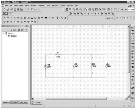 Multisim Circuit Examples Basic Electronic Circuits With