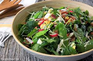 Baby Green Salad Recipe with Bacon and Egg Recipe