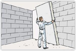 isoler un mur avec des panneaux de polystyr 232 ne