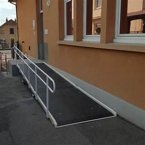 Rampe D Accès Pliable : rampe handicape rampe d 39 acc s batiment ~ Nature-et-papiers.com Idées de Décoration