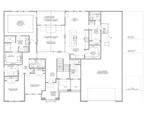 Home Builder Floor Plans by Beautiful Utah Home Builders Floor Plans New Home Plans